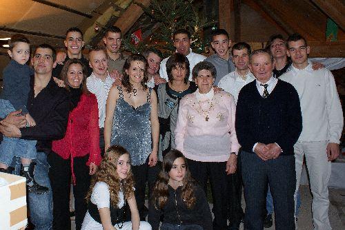 Avec toute la belle famille (sauf la photographe!!!)