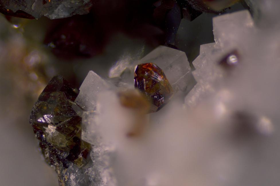 Sphalerite - La Sanguinède
