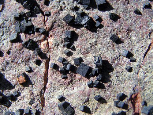 Fluorite, mine du Charbonnier
