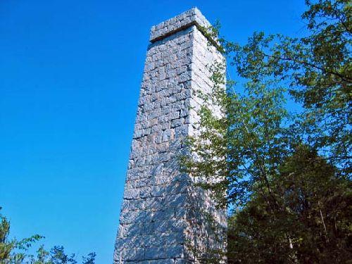 Mine de l'Eguisse, la cheminée du four