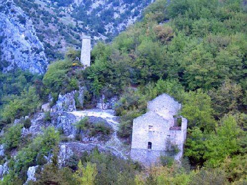 Mine de l'Eguisse, les bâtiments