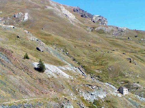 Saint Véran Mine des Clausis - Vue générale