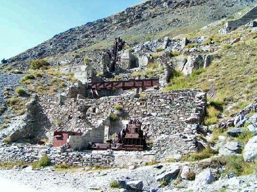 Saint Véran Mine des Clausis - Reste des installations minières