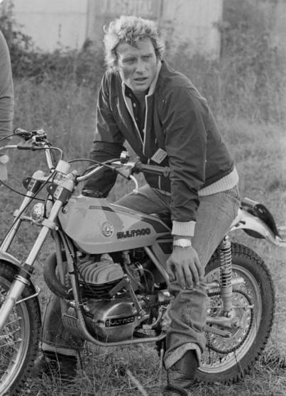 Jhonny en Bultaco