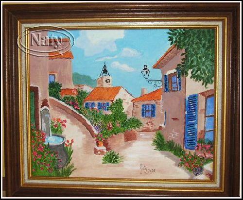 Ruelle provençale, d\'après Vincent de Rose