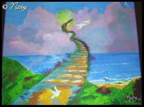 Stairway of Heaven, d\'après Jim Warren