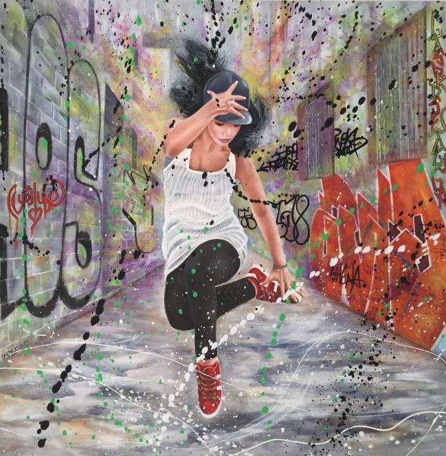 Breakdance ( 100 x 100 )