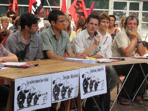Conférence de presse publique