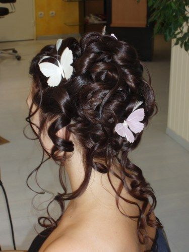 papillons coiffure