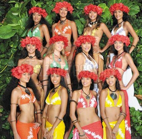 MISS TAHITI 2008