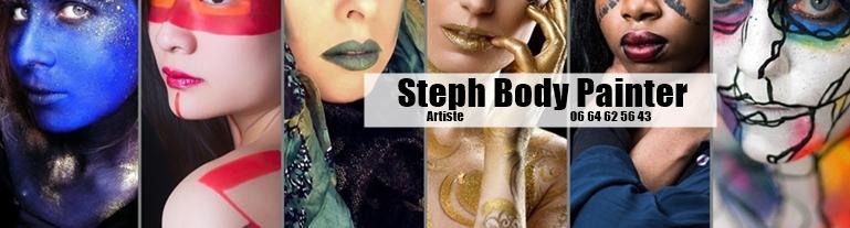 STEPH BODY PAINTER , artiste