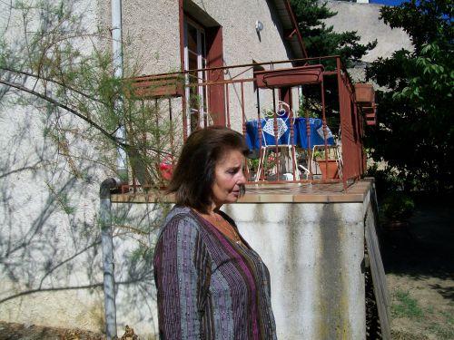 Marina chez elle à Dieulefit