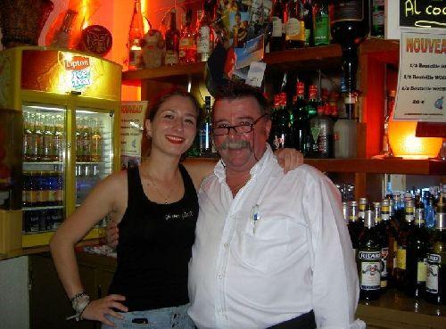Nathalie et gilbert bastide patron du bowling du rouergue for Buron de born