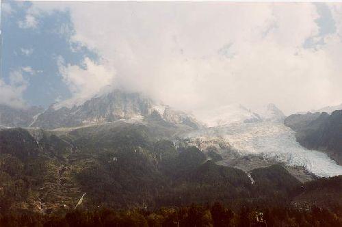 Chamonix - la Mer de Glace (les Alpes-France)