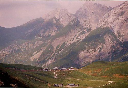 Le Col des Anes (les Alpes-Haute Savoie-France)