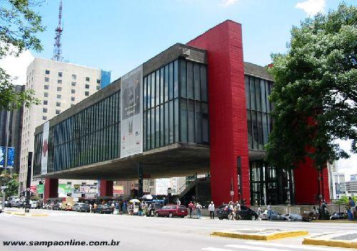 Musée Masp avenue Paulista à São Paulo (Brésil)