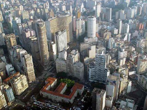 Place de la République à São Paulo (Brésil)