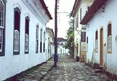 Célébre ville touristique de Paraty (Brésil)