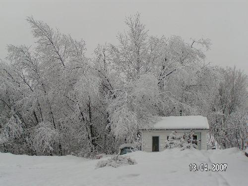 Ma cabane au Canada (Joliette-Québec) copyright Malou