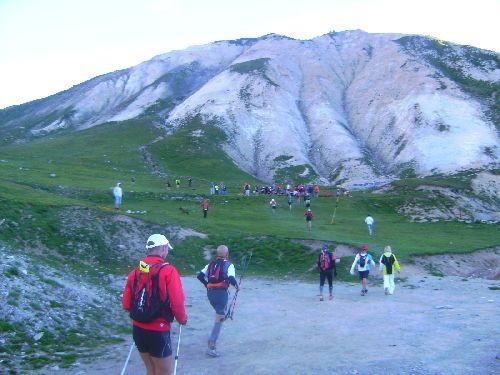 1er ravitaillement avant le sommet du Galibier