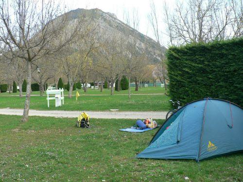 Seul tente du camping !