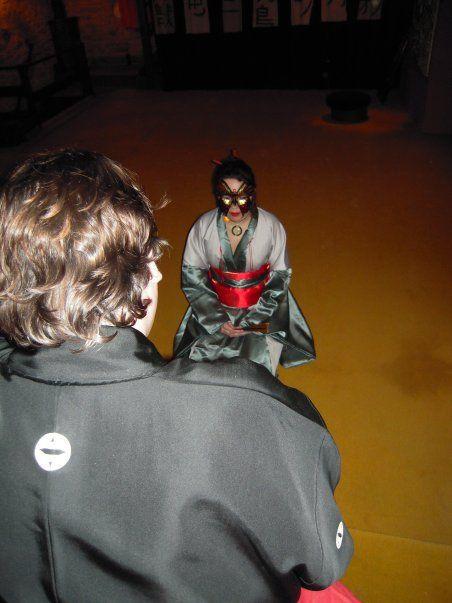Kachiko devant l'Empereur...