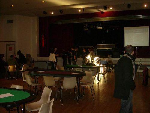 La salle de l'Interclub à Canteleu