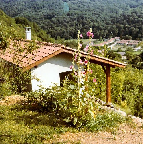 La maisonnette en 1980.