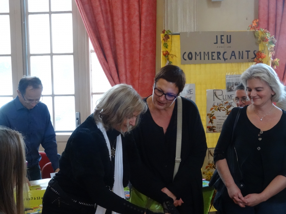Mme Bianchi et Mme Petit du Lycée collège Raymond Poincaré.JPG
