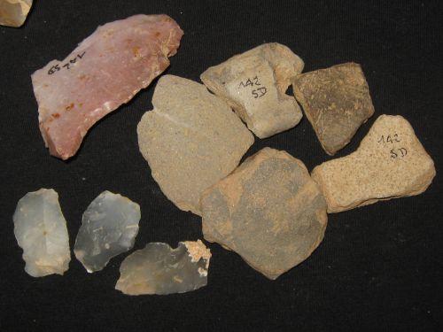 Tessons probablement Néolithique du site 142