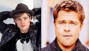 Brad Pitt, les oreilles recolées.
