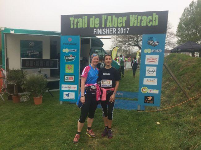 Funny Trail 8 km Bravo les filles