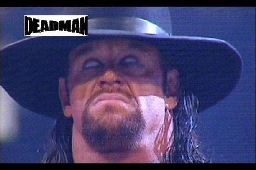 Undertaker yeux blancs