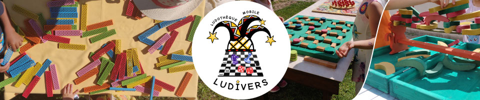 Ludotheque mobile LUDIVERS