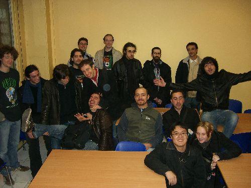 photo de groupe du tournoi de Décembre 2008