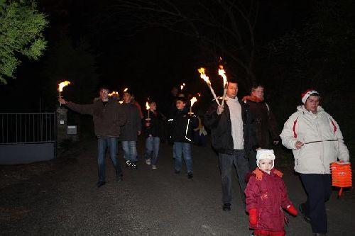 La retraite aux flambeaux 2008