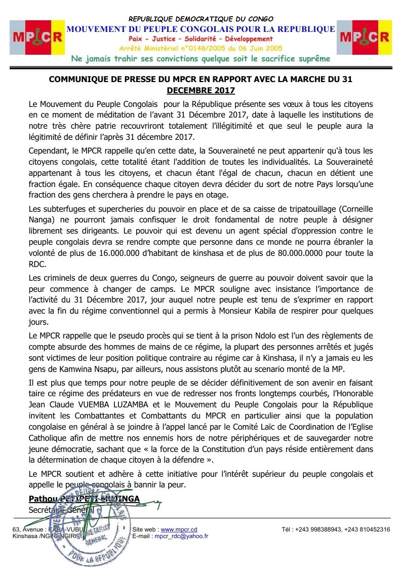 COMMUNIQUE  DE PRESSE DU MPCR POUR LE 31 Déc 2017.jpg