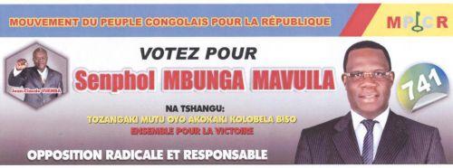 MBUNGA MAVUILA Senphol, candidat député national de la Tshangu