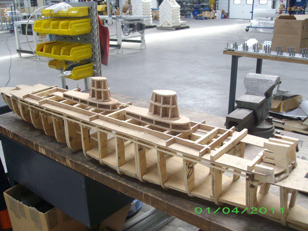 Le france en maquettes for Construire le belem