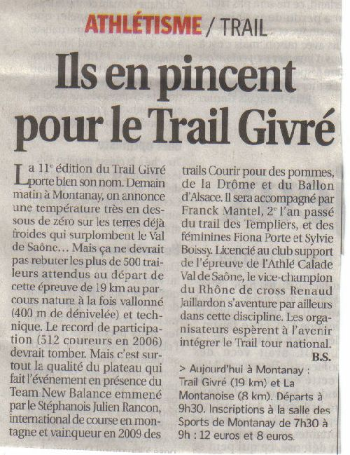 TRAIL GIVRE 2010