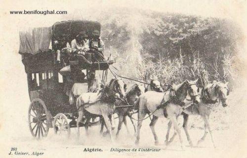 Diligence reliant Bougie à Sétif via Kherrata