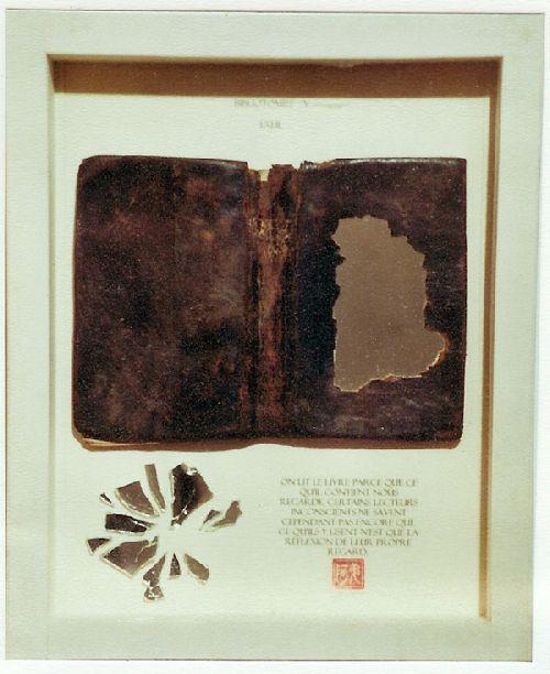 Bibliotomies 1. Oeil
