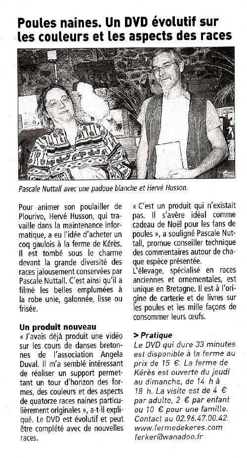 20081024 - Le Télégramme