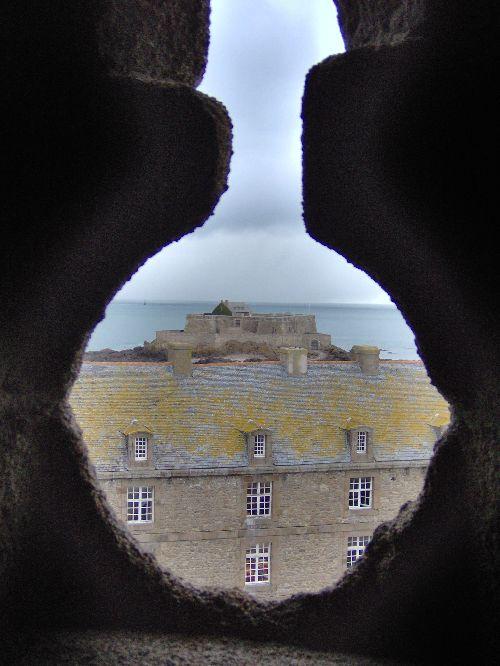 Le fort National vu de la citadelle