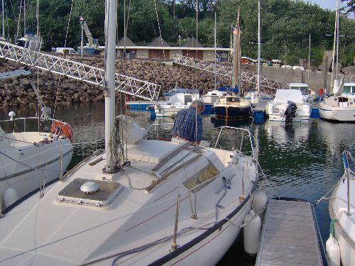 Préparation du bateau avant le départ