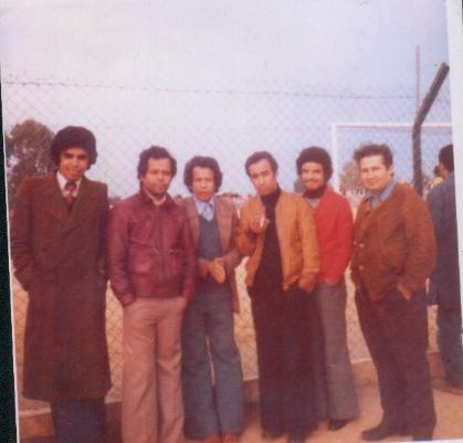 Hamid, Bachir ,Hafi et...... au stade de la Ferme