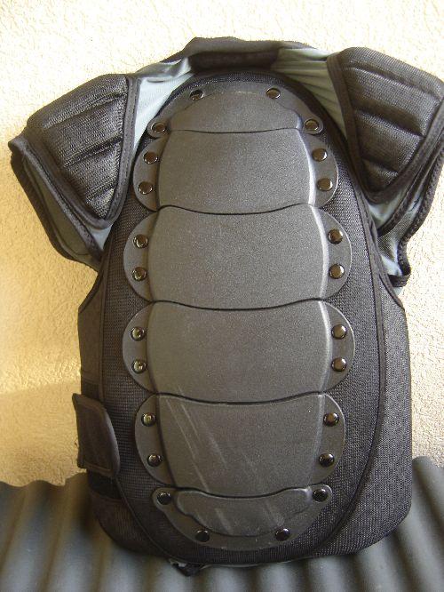 Protection dorsale VTT