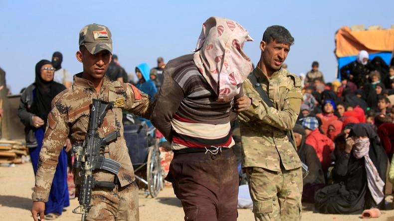 Les FS irakiennes arrêtent un homme suspecté d'appartenire à Daesh - Marjani-Reuters.jpg