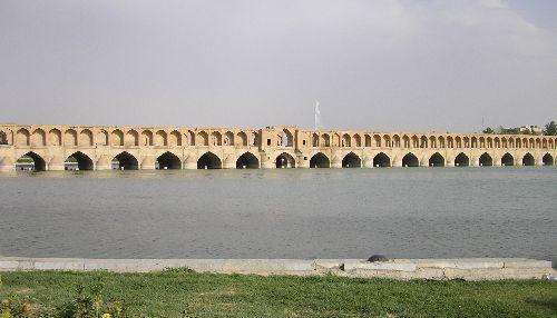 Un des deux anciens ponts d'Ispahan