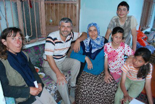 L\'imam de Comana Pontica et sa famille: une belle soirée!